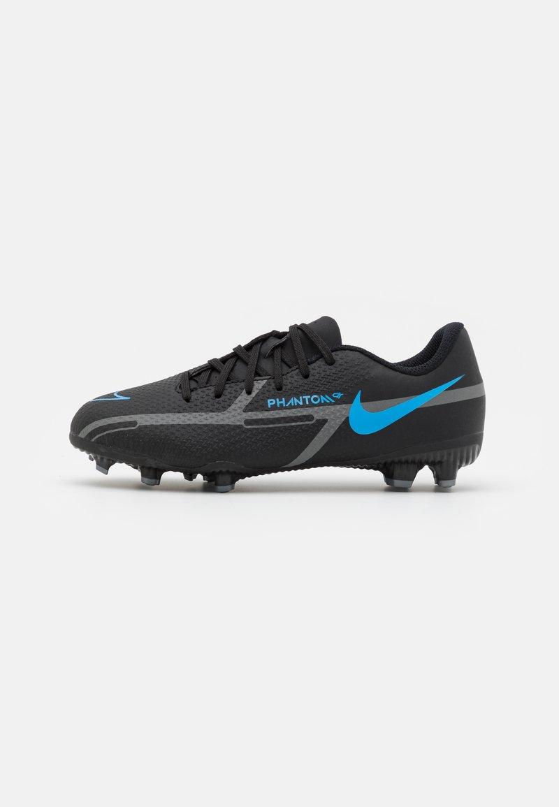 Nike Performance - JR. PHANTOM GT2 ACADEMY UNISEX - Moulded stud football boots - black/iron grey
