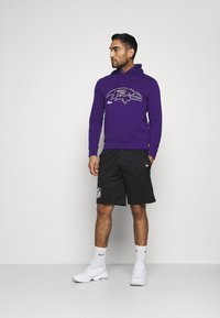 Fanatics - NFL BALTIMORE RAVENS GLOW CORE GRAPHIC HOODIE - Club wear - purple - 1