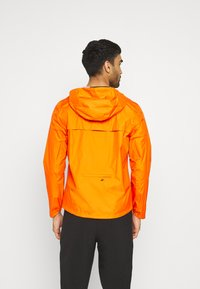 The North Face - FIRST DAWN PACKABLE JACKET MONTER - Hardshelljacka - flame - 2