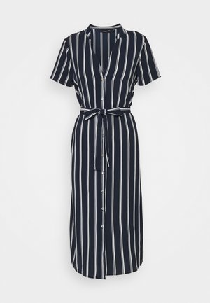 VMSAGA  - Shirt dress - navy blazer/snow white coco