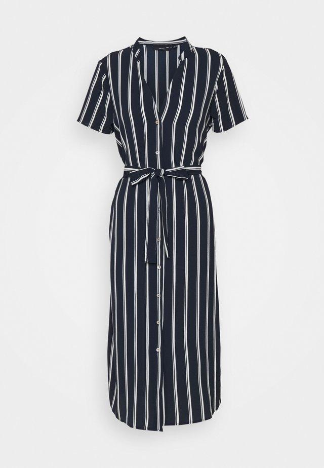 VMSAGA  - Skjortklänning - navy blazer/snow white coco