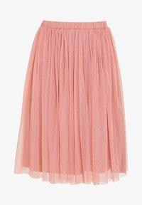 BEAUUT - Áčková sukně - dusty pink - 3