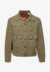 Levi's® - IRONIC ICONIC TRUCKER - Giacca leggera - olive night - 3