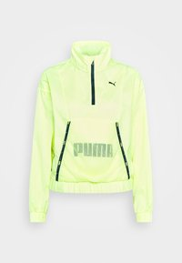 Puma - TRAIN LOGO QUARTER  - Chaqueta de entrenamiento - soft fluo yellow - 3