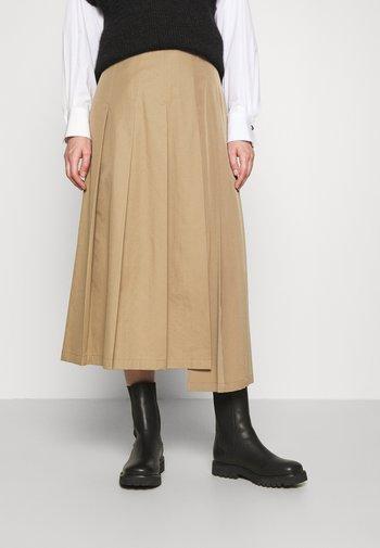 AMICA - A-line skirt - camel