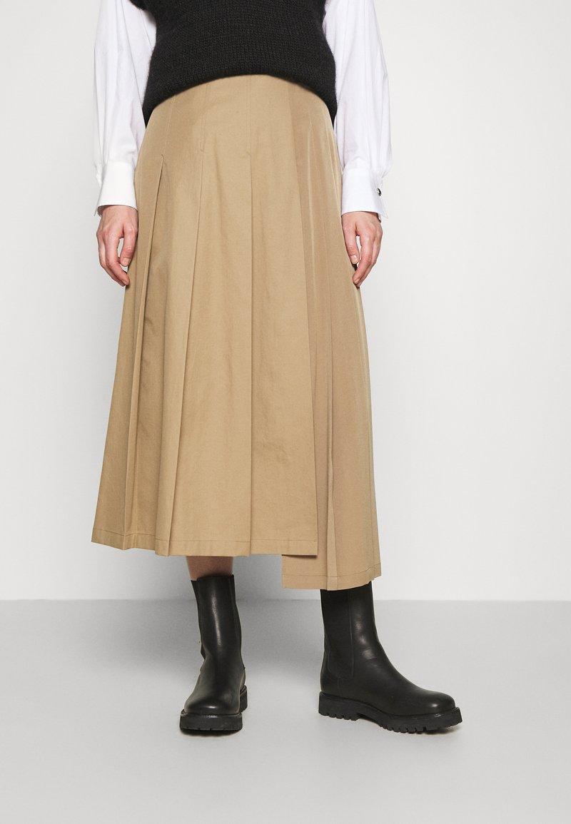 WEEKEND MaxMara - AMICA - A-line skirt - camel