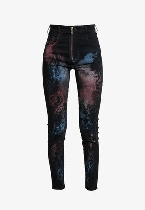 SLANDY HIGH - Jeans Skinny Fit - black