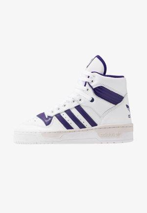 RIVALRY - Sneakers alte - footwear white/clear purple/grey one