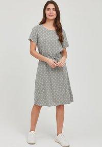 Fransa - FRANSA - Day dress - hedge mix - 1