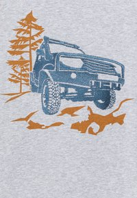 Fred's World by GREEN COTTON - SAFARI OFF ROAD UNISEX - T-shirts med print - pale grey - 2