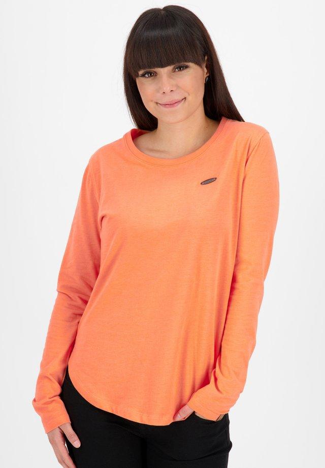 T-shirt à manches longues - papaya