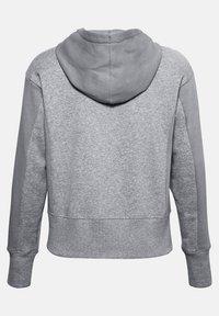 Under Armour - RIVAL - Zip-up hoodie - steel medium heather - 4