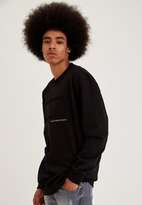 DeFacto - OVERSIZED - Sweatshirt - black - 3