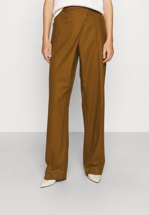 TROUSERS - Kalhoty - brown