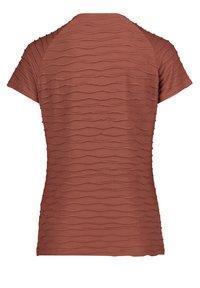 Betty Barclay - MIT WELLENSTRUKTUR - Print T-shirt - braun - 1