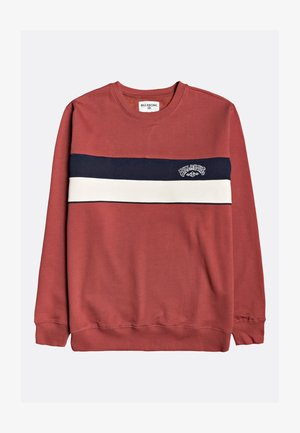 SWEAT À CAPUCHE - Sweatshirt - deep red