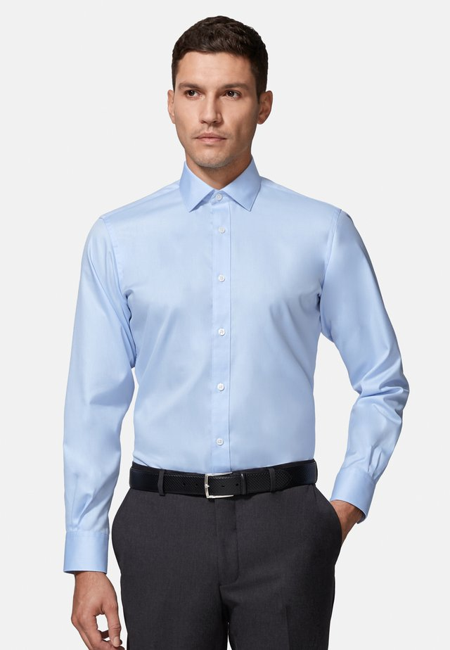 SLIM FIT TWILL SHIRT - Formal shirt - blue