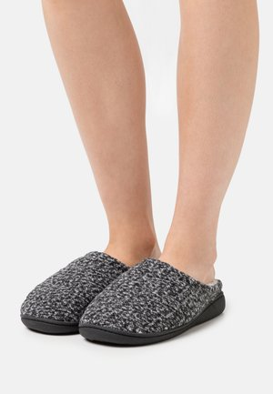 Slippers - black/grey