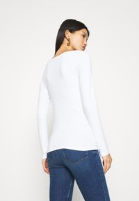 GAP - BATEAU - Long sleeved top - fresh white - 2