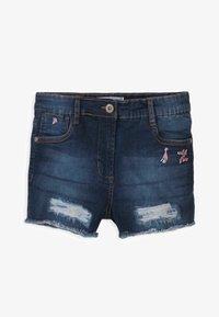MINOTI - Denim shorts - blue denim - 0