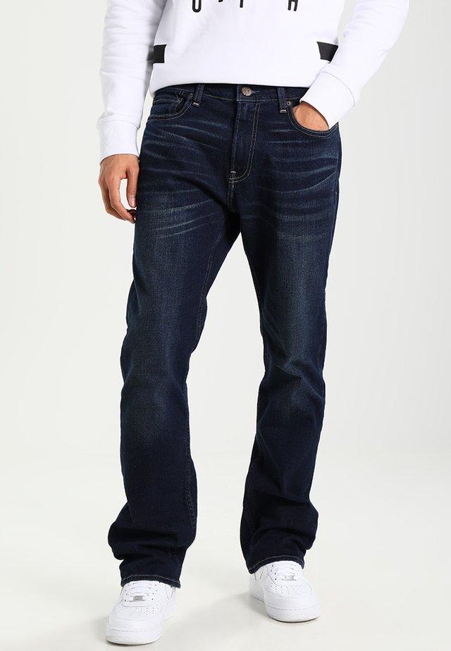 Jean bootcut - dark wash