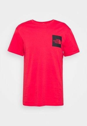 FINE TEE - Print T-shirt - horizon red