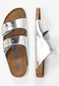 Birkenstock - ARIZONA - Sandaler - metallic silver - 2