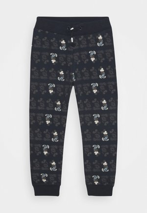 NMMMICKEY - Tracksuit bottoms - dark sapphire
