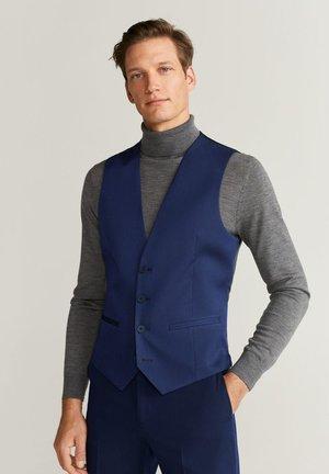 PAULO - Suit waistcoat - blau