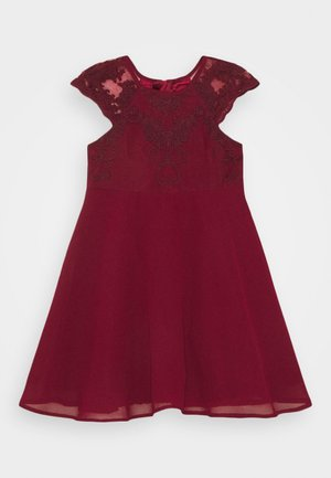 LOUISE GIRLS - Cocktailkleid/festliches Kleid - burgundy