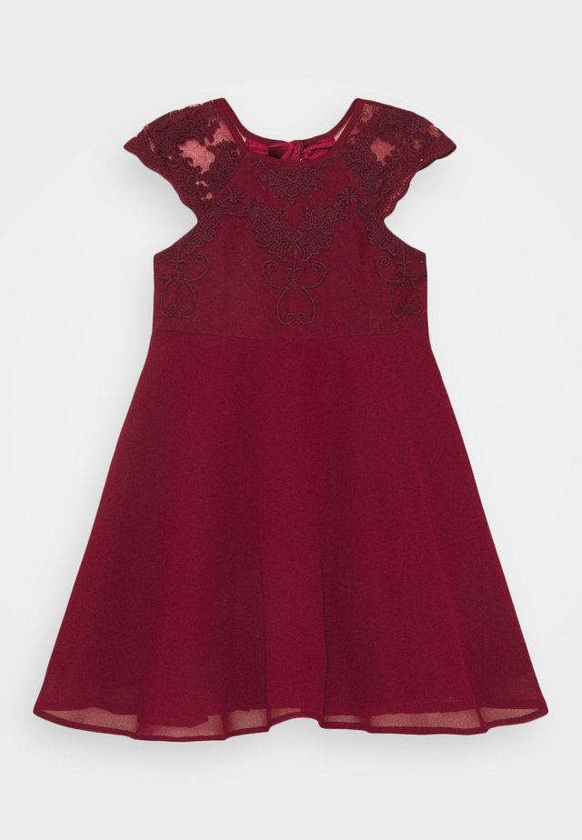 LOUISE GIRLS - Cocktailjurk - burgundy