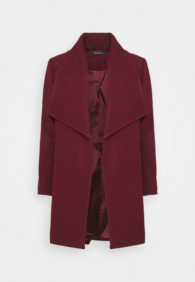 Classic coat - plum