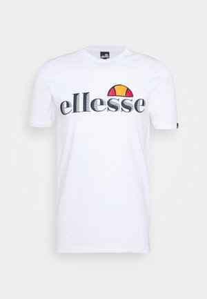 HAREBA - Camiseta estampada - white