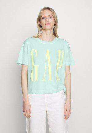 BOXY TEE - T-shirt z nadrukiem - quince