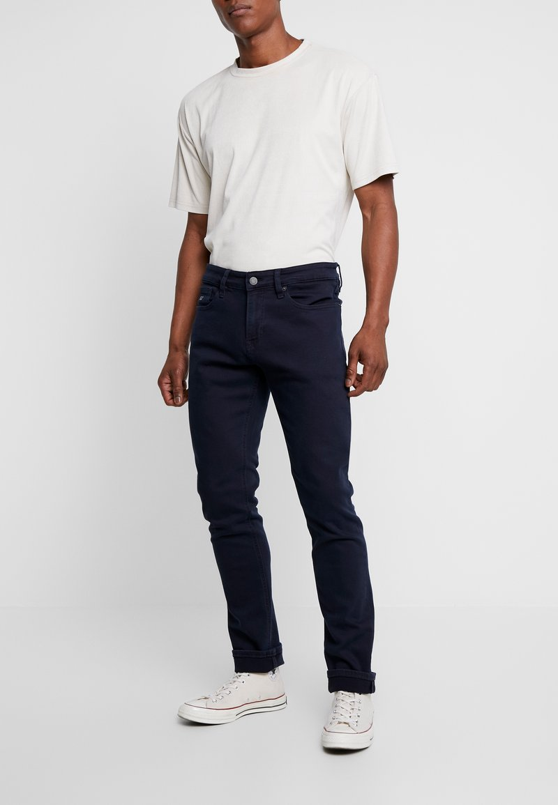 Tommy Jeans - SCANTON - Slim fit jeans - black iris