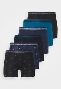 6 PACK  - Pants - black/green