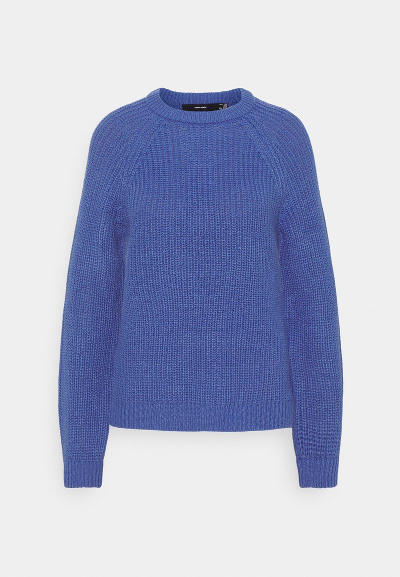 Vero Moda - VMNEWLEA O-NECK - Jumper - dazzling blue