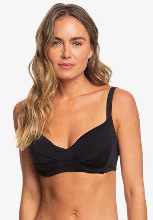 MIT KÖRBCHENGRÖSSE D - Bikinitop - true black