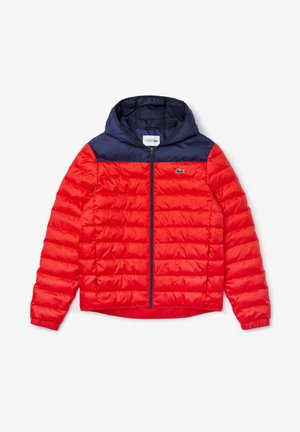 BH1531 - Down jacket - rouge / bleu marine