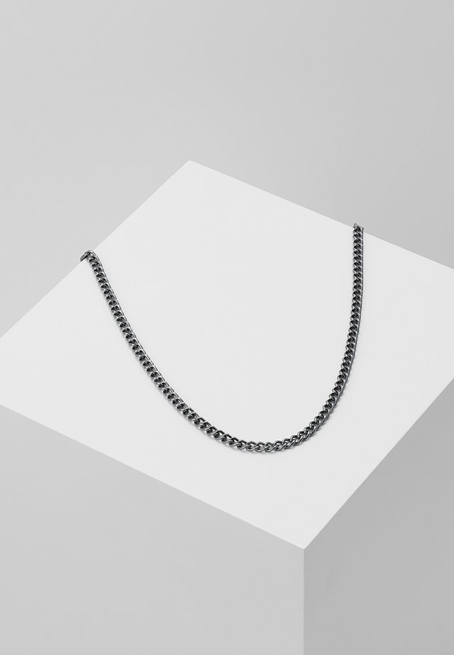 CURB YOUR DESIRES NECKLACE - Halskæder - gunmetal