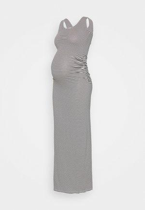 ASSIA TANK - Maxi šaty - navy blue/off white