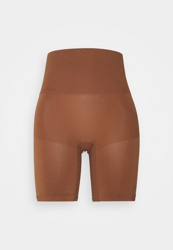 SMOOTHER SHAPER HIGH WAIST SHORT - Shapewear - chocolate mousse