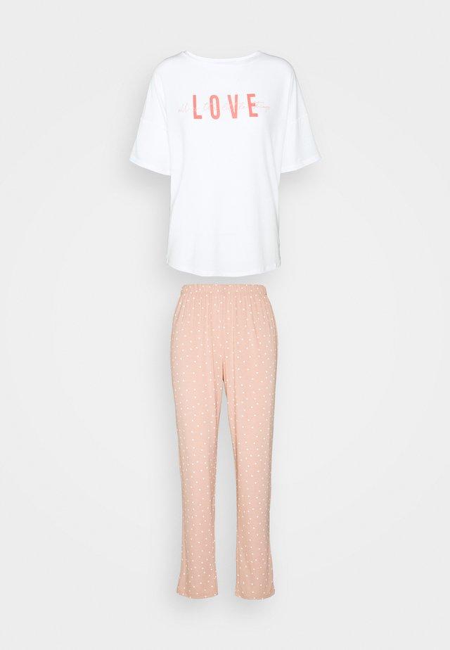 LOVE TWOSIE - Piżama - blush