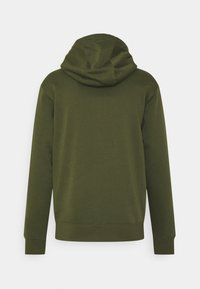 Nike Sportswear - CLUB HOODIE - Zip-up sweatshirt - rough green/white - 1