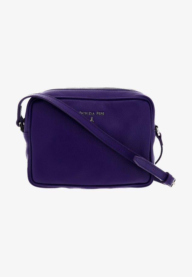 Across body bag - dark street violet