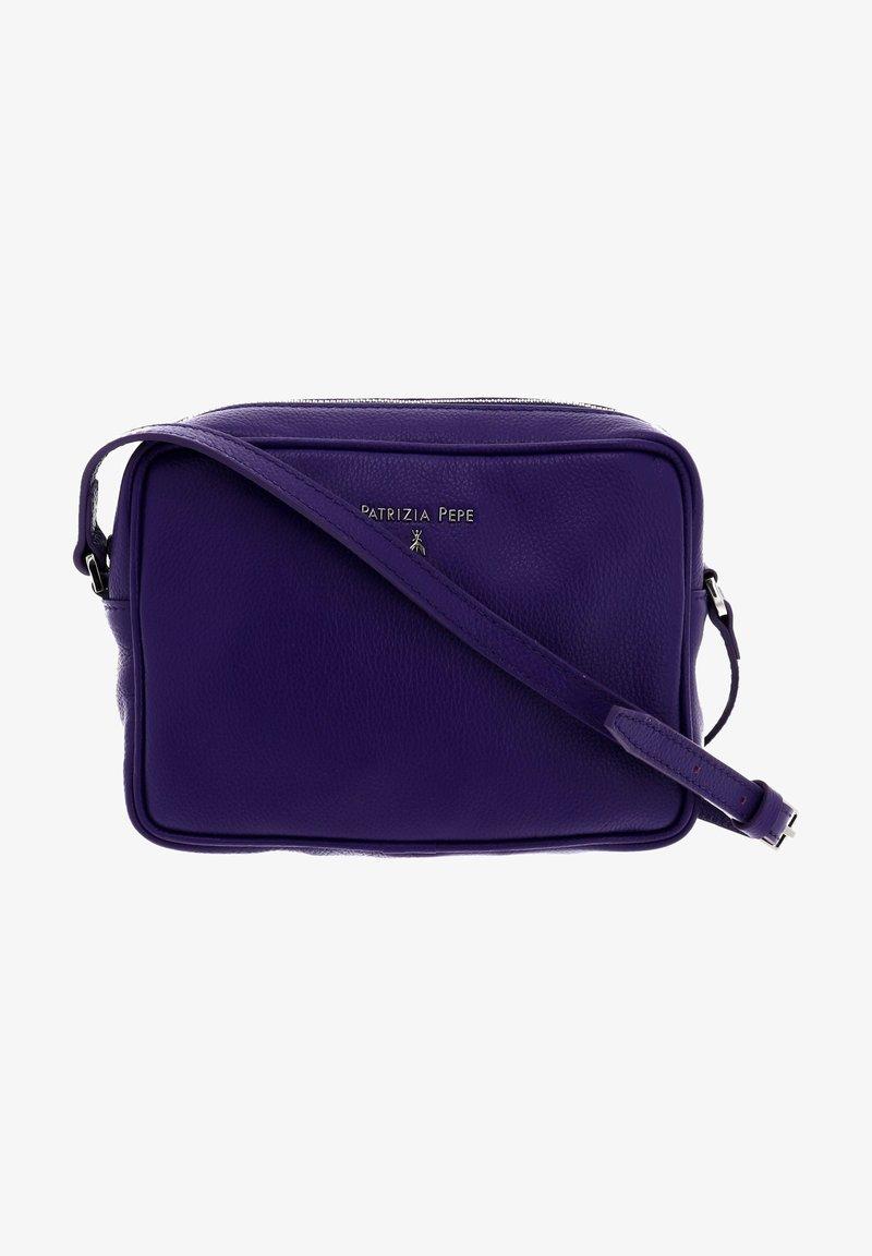 Patrizia Pepe - Across body bag - dark street violet