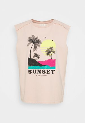ANYWEAR SUD - T-shirt con stampa - light pink