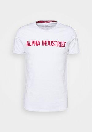 MOTO  - T-shirt med print - white