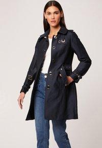 Morgan - Trenchcoat - dark blue - 0