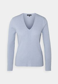 More & More - 1/1 SLEEVE - Trui - cloudy blue - 0